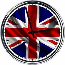 Wanduhr Mit Englisch Flagge
