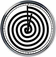 Wanduhr Mit Freimaurer symbol 7