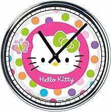 Wanduhr Mit Hello Kitty