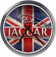 Wanduhr Mit Jaguar 2