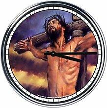 Wanduhr Mit Jesus 3