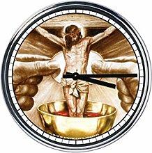 Wanduhr Mit Jesus 4