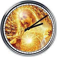 Wanduhr Mit Jesus 6