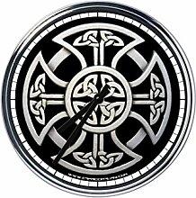 Wanduhr Mit Keltisches Kreuz 3