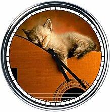 Wanduhr Mit Kittens 2
