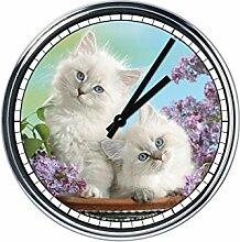 Wanduhr Mit Kittens 4