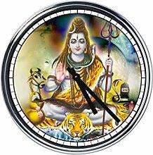 Wanduhr Mit lord shiva