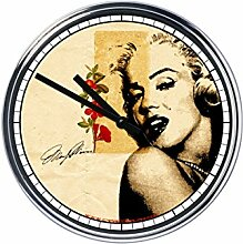 Wanduhr Mit Marilyn Monroe 4
