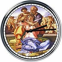Wanduhr Mit Michelangelo - Runde Geschenke