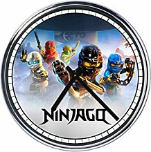 Wanduhr Mit Ninjago
