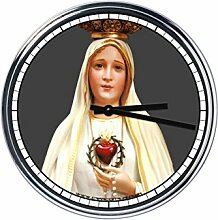 Wanduhr Mit Our Lady of Fatima