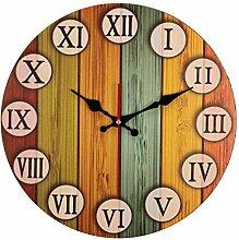 Wanduhr mit römischer Ziffer/Retro-Uhr, kreative