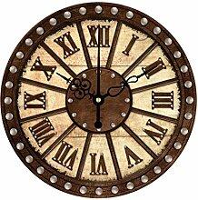 Wanduhr mit römischer Ziffer/runde Wanduhr,