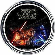 Wanduhr Mit Star Wars Das Erwachen der Mach