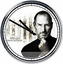 Wanduhr Mit Steve Jobs 2