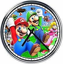 Wanduhr Mit Super Mario Bros (3° version)
