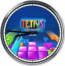 Wanduhr Mit Tetris 3