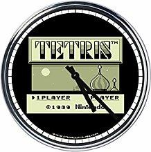 Wanduhr Mit Tetris