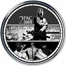 Wanduhr Mit Tupac Shakur 4