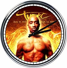 Wanduhr Mit Tupac Shakur 5