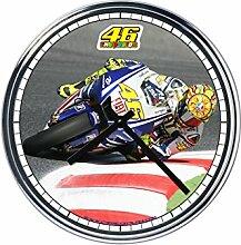 Wanduhr Mit Valentino Rossi
