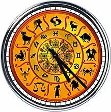 Wanduhr Mit Zodiac