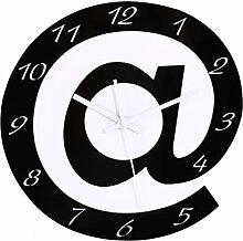 Wanduhr Modern, Likeluk 12 Zoll(30cm) Lautlos Wanduhr Vintage Wanduhr Acryl Wall Clock Uhr Ohne Ticken