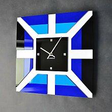 Wanduhr modernes Design, Wanddeko, Wand Glas Acryl