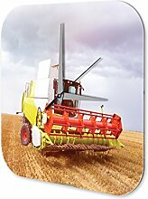 Wanduhr Nostalgie Traktor Deko Uhr Mähdrescher Acryl Wanduhr