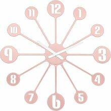 Wanduhr Pinball 45 cm Koziol Farbe: Rosa