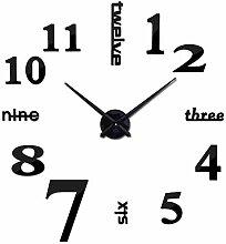 Wanduhr Quarz Uhren Mode Uhren 3D Echte Große