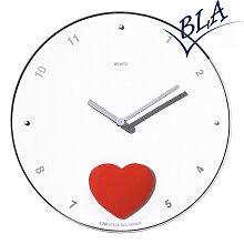 Wanduhr RXT Zeit Design Herzens Liebe