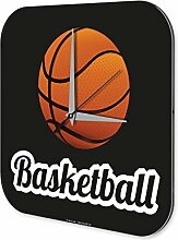 Wanduhr Sport Basketball Deko Wand Uhr Vintage Retro