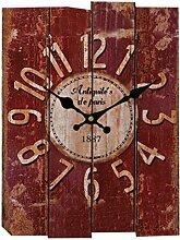 Wanduhr Vintage, Likeluk Lautlos Wanduhr Holz Uhr