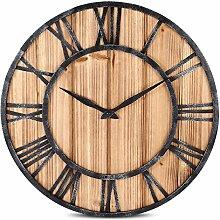 Wanduhr Vintage, LoKauf Holz Lautlos Retro Wanduhr Kuckucksuhr Uhr