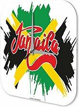 Wanduhr Weltenbummler Jamaica Dekouhr Vintage Retro