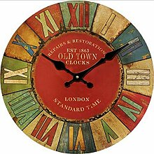 Wanduhren Holz Uhren Quarzuhr Wohnkultur Europa