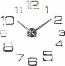 Wanduhren Moderne 3D Große Quarzuhr Uhren