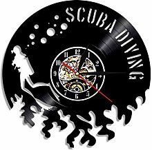 Wanduhren Vinyl Record Kreative Cd Handmade Arts &