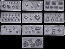 Wanfor Schmuckherstellungswerkzeuge, 10 Stück DIY