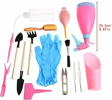 Wanfor Werkzeuge 21pcs Mini Hand Garten Set Sie