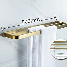 WANG LIQING Bad-Serie Gold Handtuchhalter-Set zur