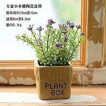 WANG-shunlida Blumen Familie Dekoration Kleine