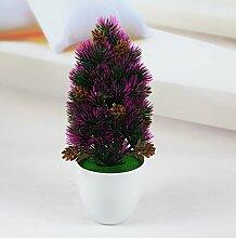 WANG-shunlida Fake Blumen Künstliche Blumen Grün