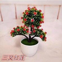 WANG-shunlida Künstliche Blumen Heimtextilien