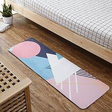 WANG-shunlida Rutschfeste Fußauflage, Schlafzimmer, Bett, Matte, strip Badezimmer, C, 50 x 150 Stärke 1,2