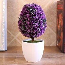 WANG-shunlida Unechte Blumen Die Topfpflanze Gras