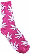 Wangc 1 Paar Creative Marihuana Weed Leaf Herren