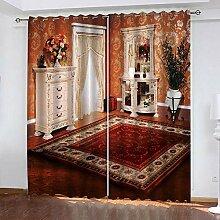 wangcheng1 europäischer Stil-Vorhang Blickdicht