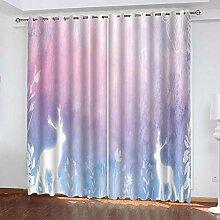 wangcheng1 Glühendes Kitz-Vorhang Blickdicht